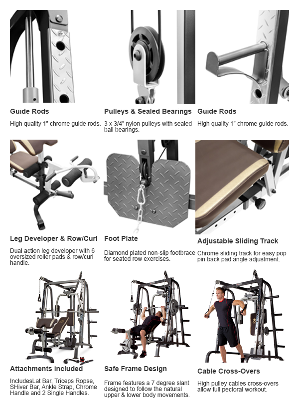 Best Home Gym by Marcy - MD-9010G - All Features