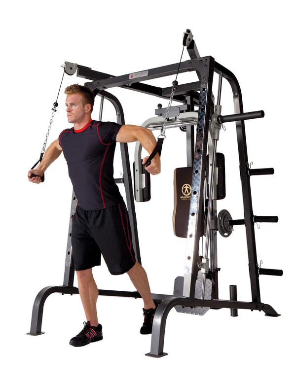 Best Home Gym by Marcy - MD-9010G - Cross Cables