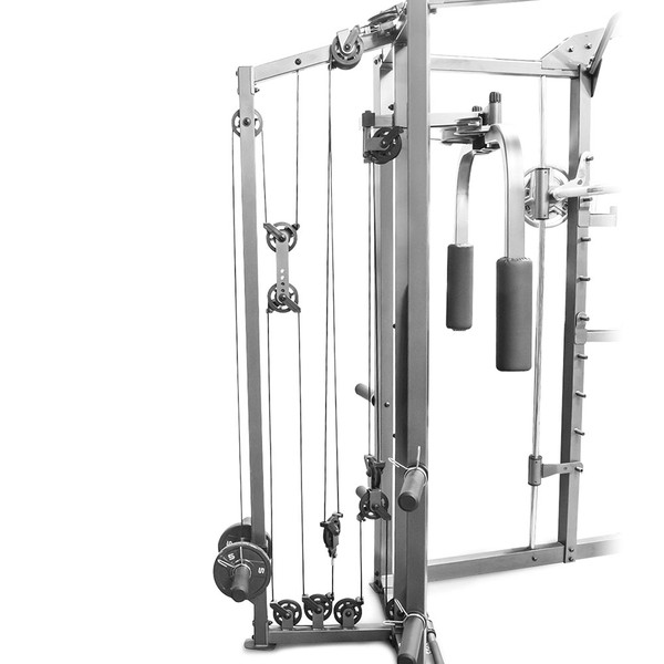 The Marcy Smith Machine SM-4008 has a durable pulley system