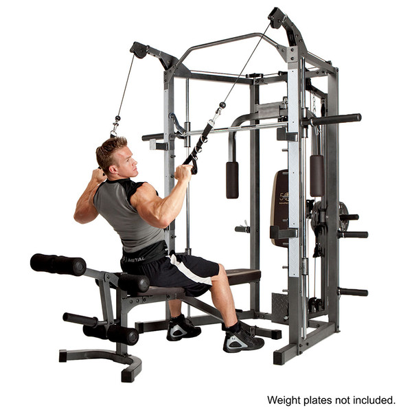 The Marcy Smith Machine SM-4008 in use - rows