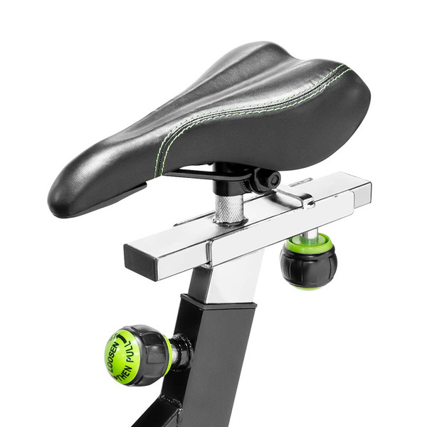 The Marcy Revolution Cycle XJ-3220 has an adjustable seat to fit every user