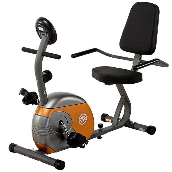 The Recumbent Bike ME-709 by Marcy brings high intensity interval conditioning  to your home gym