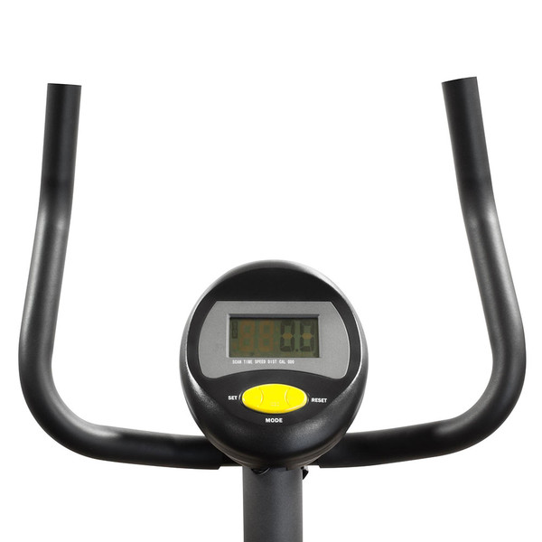 The Upright Magnetic Bike NS-714U by Marcy has ergonomic handles