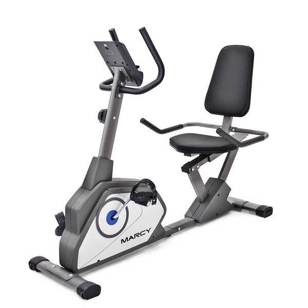 36e958880a8 The Recumbent Bike NS-40502R by Marcy delivers a high intensity workout to  the best ...