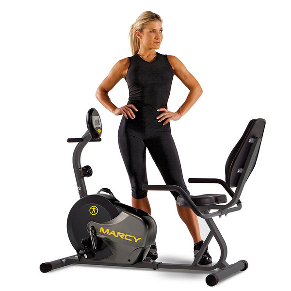 Model with the Marcy Recumbent Magnetic Cycle NS-716R