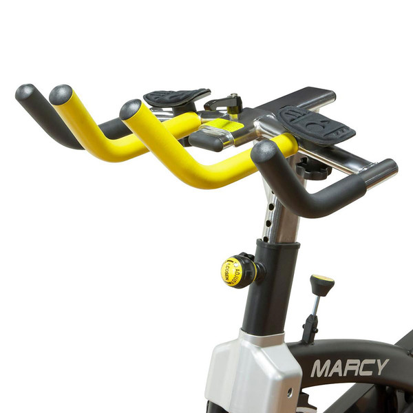 The Marcy Revolution Cycle JX-7038 has ergonomic handles designed for comfort