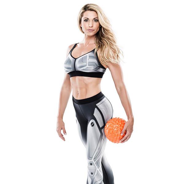 Bionic Body Massage Ball held by Kim Lyons
