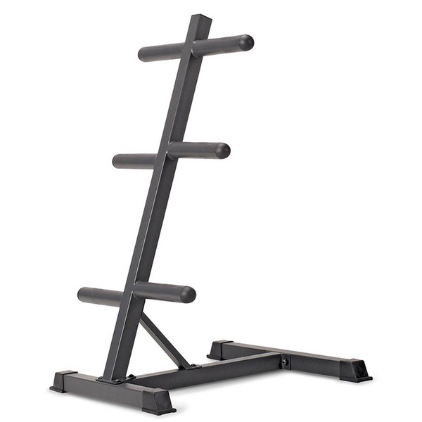 The Olympic Plate Tree PT-45 is necessary for organizing and saving space for the best home gym