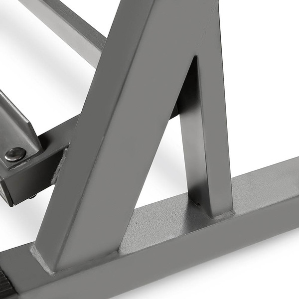 The Marcy 3 Tier Dumbbell Rack DBR-86 has a powder coated finish to improve longevity