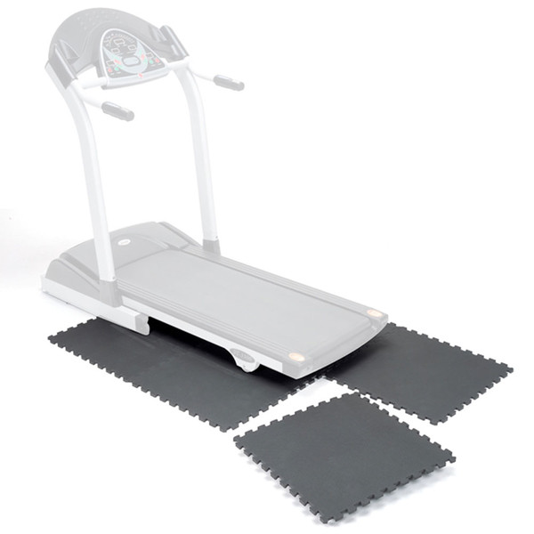 High Impact Flooring Marcy MAT-20 can be placed under people or gym equipment to protect the floor