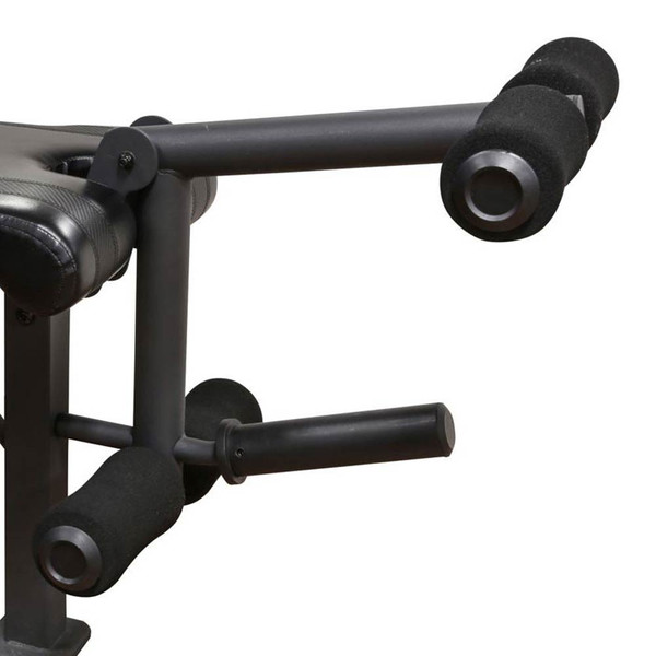 The Olympic Bench Competitor CB-729 includes a leg developer to deliver a full body workout