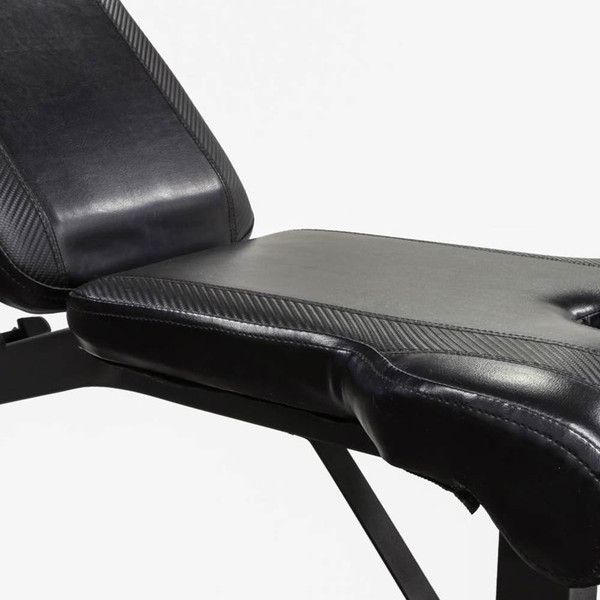 The Olympic Bench Competitor CB-729 has thick padding for extended workouts