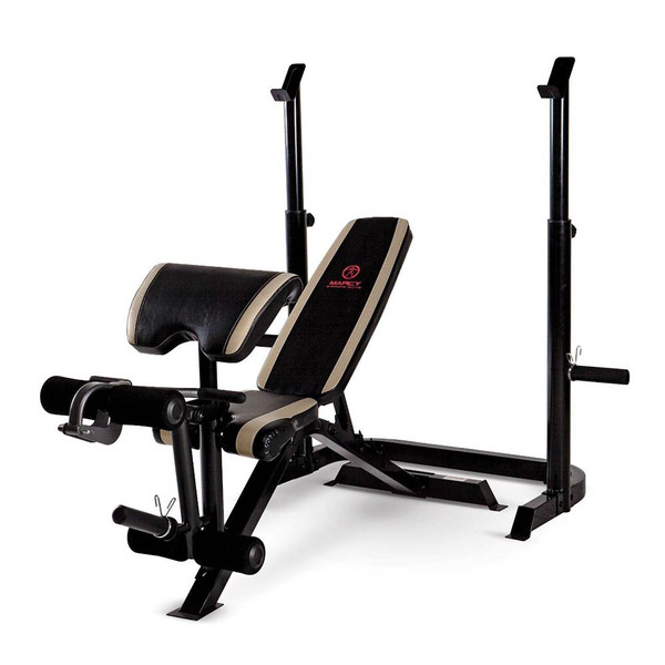 The Marcy Two-Piece Olympic Bench MD-879 will complete your home gym
