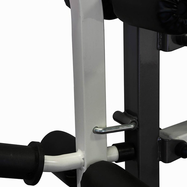The Folding Standard Weight Bench Marcy MWB-20100 has thick padding for extended workouts