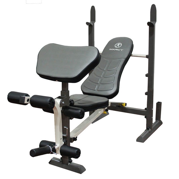 The Folding Standard Weight Bench Marcy MWB-20100 will bring bodybuilding level of conditioning to your home gym