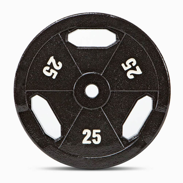 25 lbs. ECO STD Grip Plate to add weight to your BodyBuilding Workout