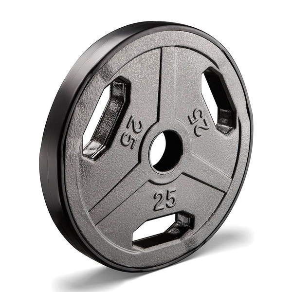 25 lbs. Olympic Plate to add weight to your Heavy Duty Workout