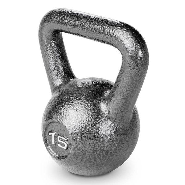 15 lbs. Hammertone Kettle Bell to optimize your HIIT conditioning workout!