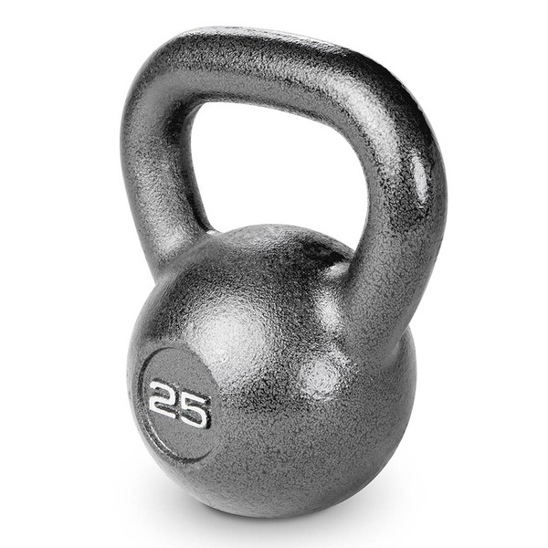25 lbs. Hammertone Kettle Bell to optimize your HIIT conditioning workout!