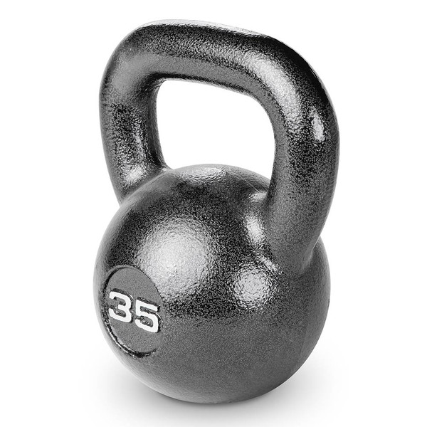 35 lbs. Hammertone Kettle Bell to optimize your HIIT conditioning workout!