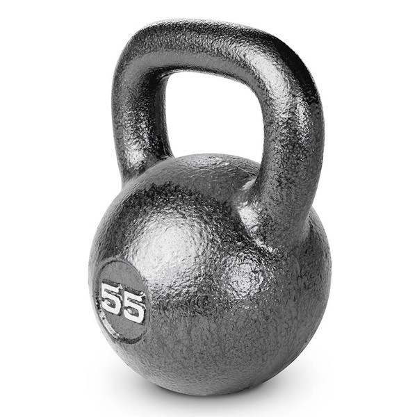 55 lbs. Hammertone Kettle Bell to optimize your HIIT conditioning workout!