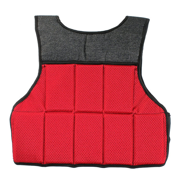 Bionic Body 10 lb. Weighted Vest brings added weight to your run or workout - use it to condition and tone your body - back