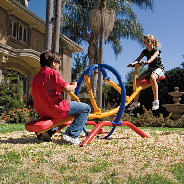 The Gym Dandy Pendulum Teeter Totter TT-320 in use