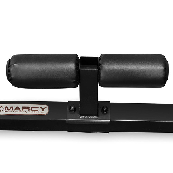 The Marcy Cage System SM-3551 includes rollers for sit ups