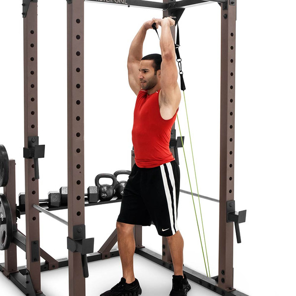 The Monster Rack SteelBody STB-98005 in use - triceps