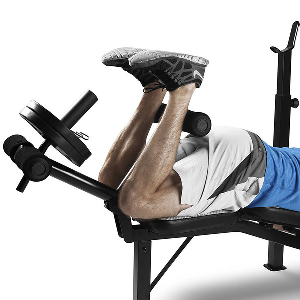 Marcy Olympic Multipurpose Weightlifting Workout Bench| MWB-4491
