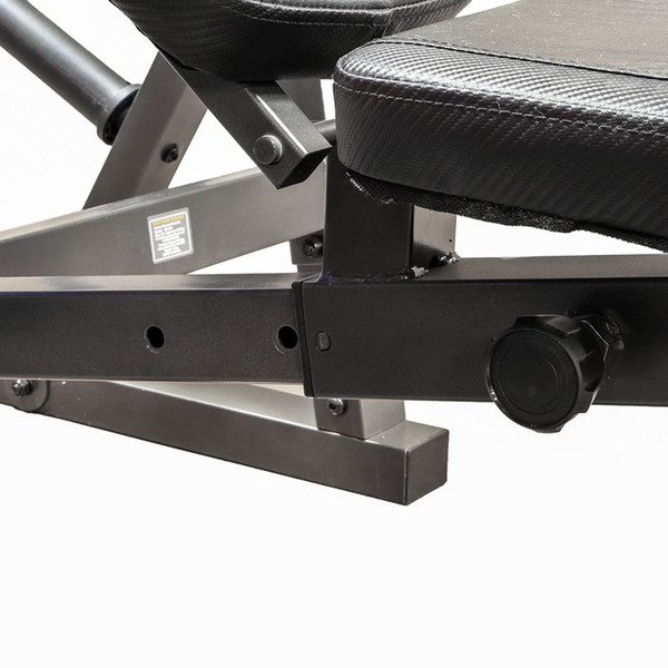 The Marcy Olympic Weight Bench MD-857 has an adjustable seat to fit every user