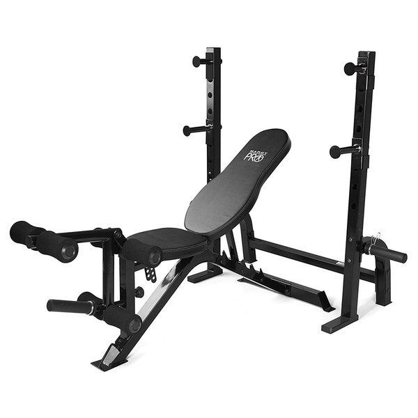 The Marcy Olympic Weight Bench PM-70210 by Marcy adds variety to your workout with incline, decline, flat and Military positions