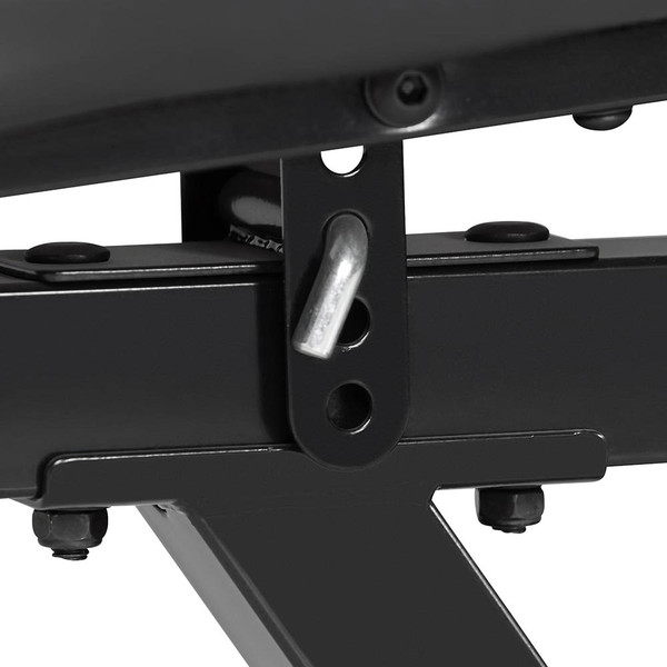 The Marcy Deluxe Utility Bench SB-350 by Marcy has seat angle adjustment