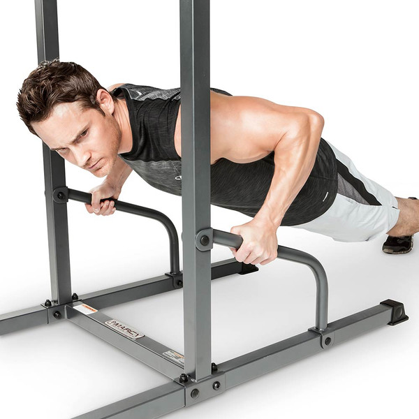Marcy Power Tower TC-3515 in use - Push up Bars