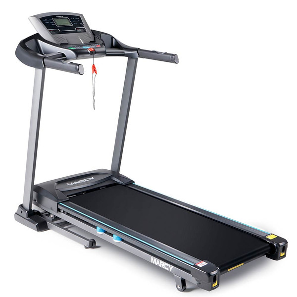 The Marcy Motorized Treadmill With Auto Incline JX-663SW is perfect for beginner and advanced runners
