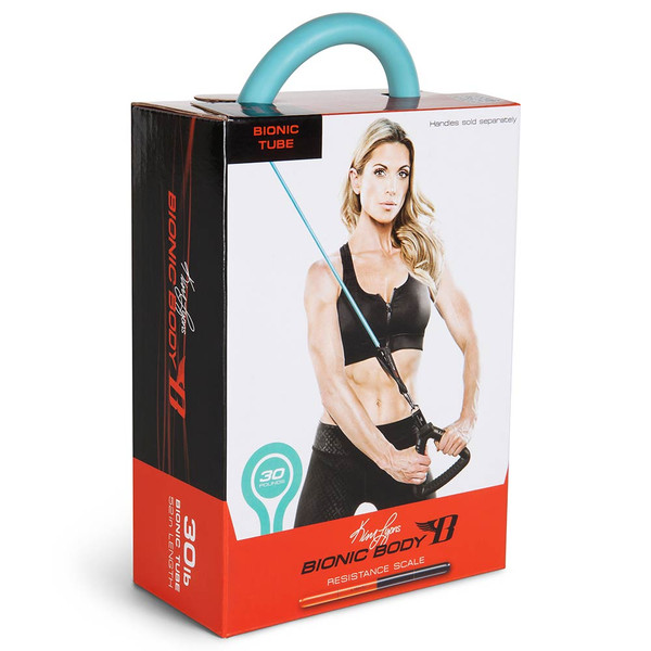 Long lasting Bionic Body 30 lb. Resistance Band Inside of the package