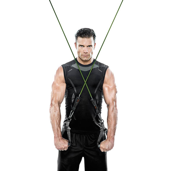 Heavy Duty Bionic Body 80 lb. Resistance Band in use