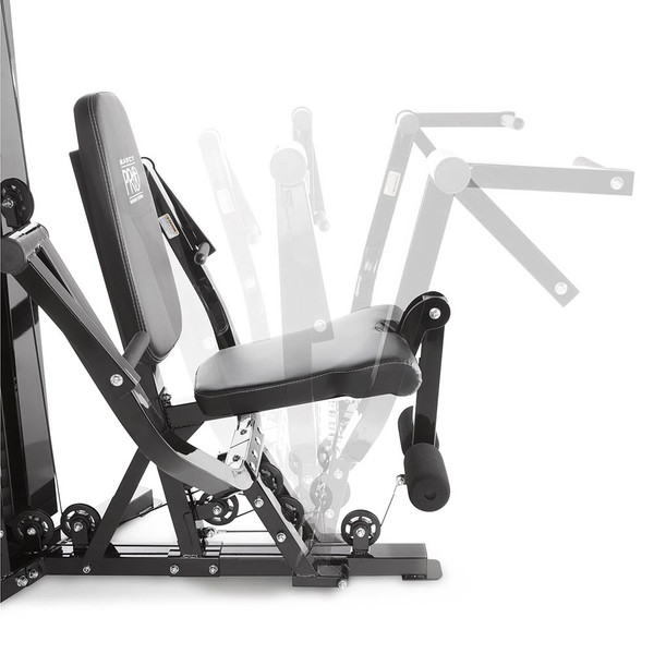30 exercises can be completed on the Marcy Pro Two Station Home Gym PM-4510 so you can get a high intensity interval  conditioning workout