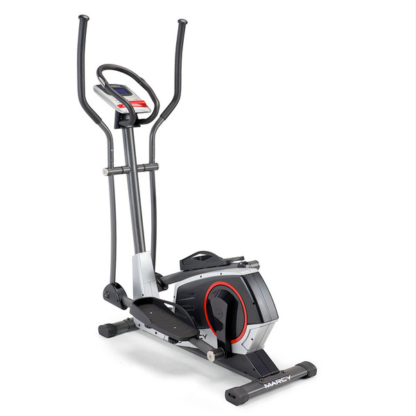 Regenerating Magnetic Elliptical Trainer Machine Marcy ME-704 back side of cardio exercise device
