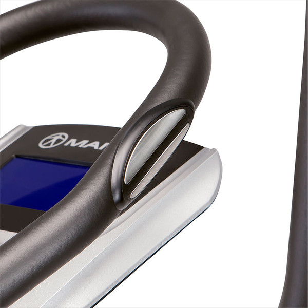 The Regenerating Magnetic Elliptical Trainer Machine Marcy ME-704  is a cardio device with pulse monitor to optimize your HIIT training