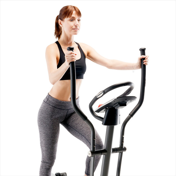 The Regenerating Magnetic Elliptical Trainer Machine Marcy ME-704  is a cardio device that provides a strong upper body workout