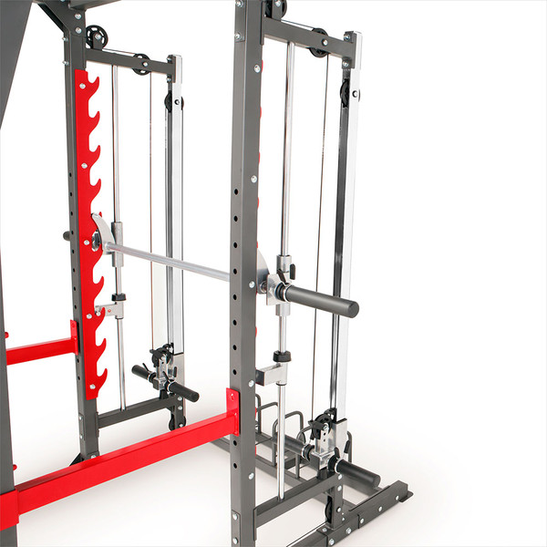 Marcy Pro Smith Cage Home Gym Training System | SM-4903 - pulley system