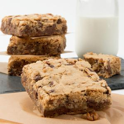 David's Thaw and Serve Blondie Brownie - 2/24ct Trays