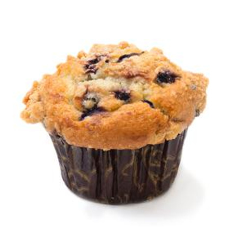 David's Thaw & Serve Blueberry Crumb Muffins - 6oz