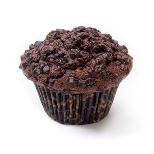 David's Thaw & Serve Double Chocolate Chip Muffins