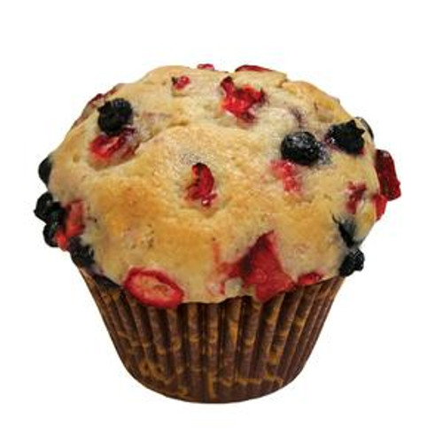 David's Thaw & Serve Mountain Berry Muffins