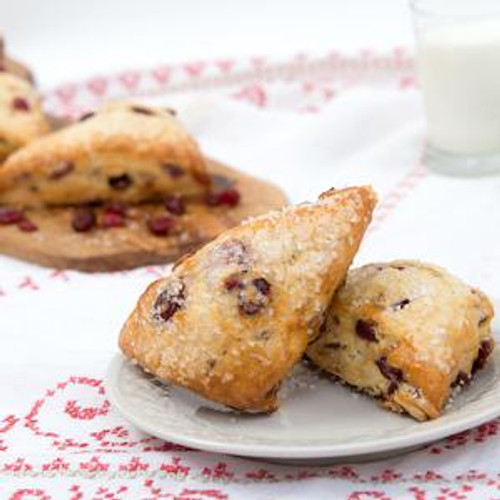 David's Thaw & Serve Cranberry Scone