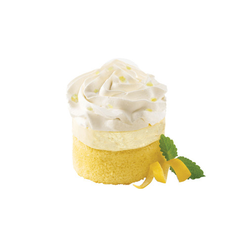 Bistro Collection Gourmet Individual Dessert Lemon Creme Layer Cake