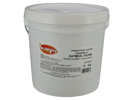 Karps Scoop N Bake Oatmeal Raisin Cookie Dough - 18lb