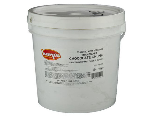 Karps Scoop N Bake Chocolate Chunk Cookie Dough - 18lb
